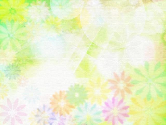 花柄のデザインの画像