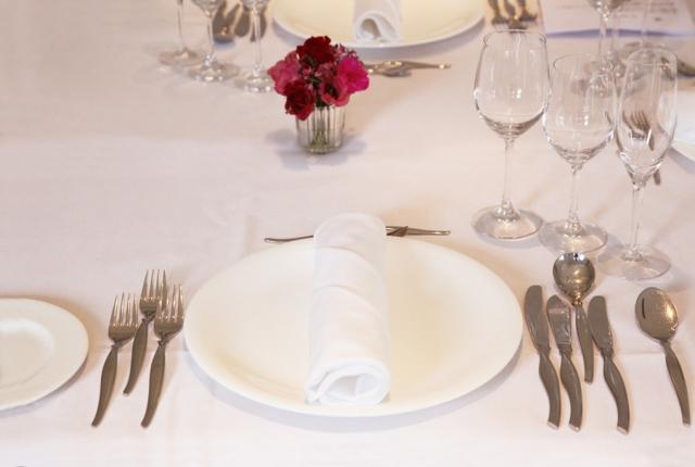 レストランのテーブルクロス