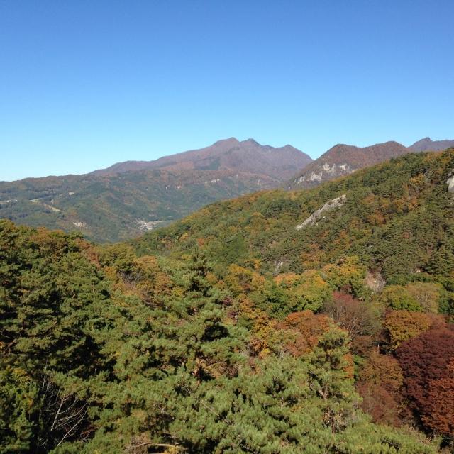 群馬県の山々の画像