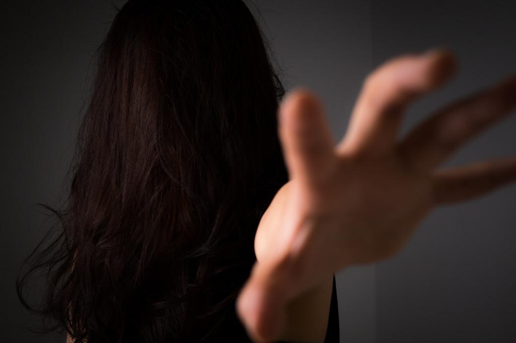 怖い女性が説明する見所