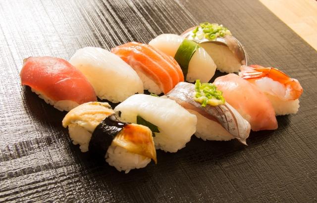 寿司に仕込まれたわさび