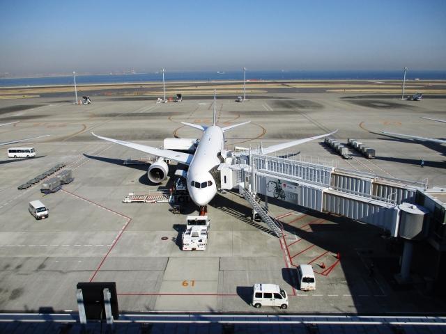 狙われたと思った羽田空港