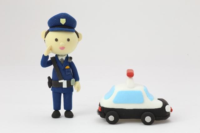 警察署で行われる罰ゲーム
