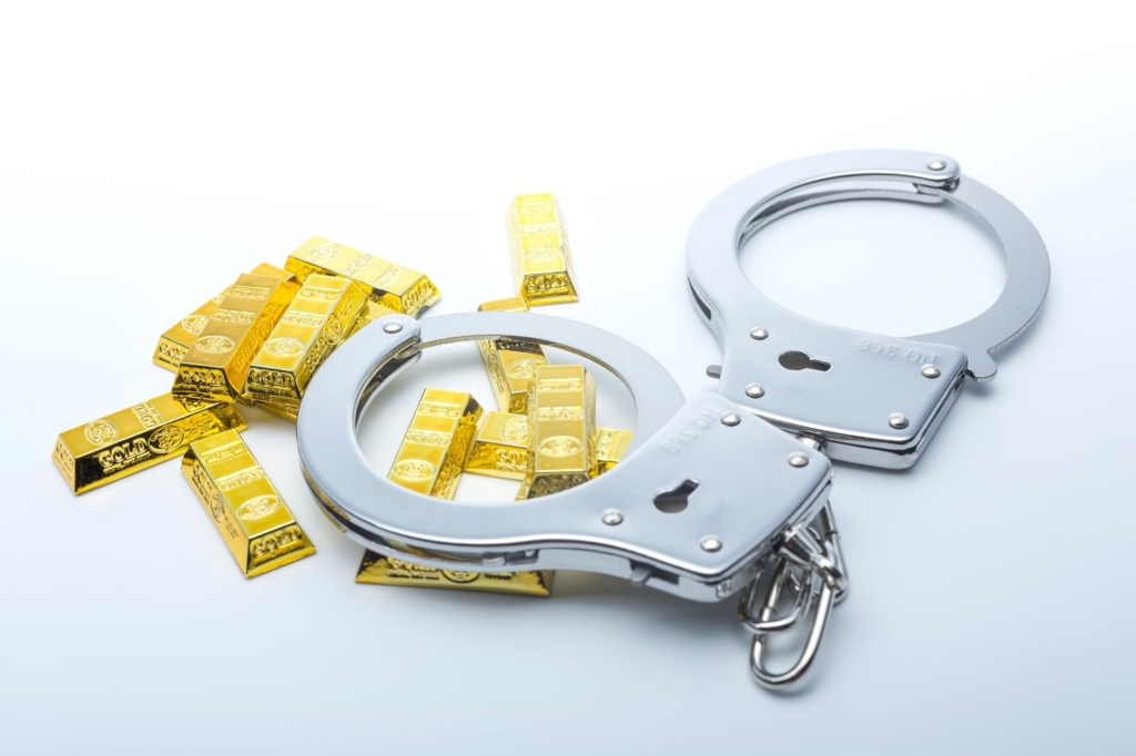 警察が使用する手錠