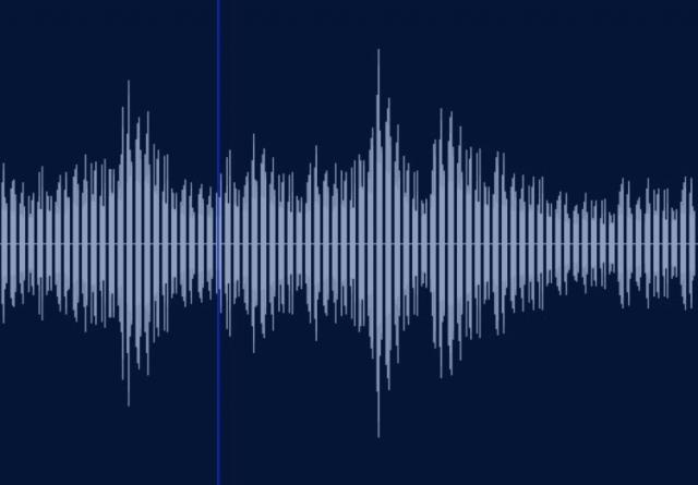 ある音を探知したレーダー