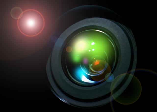 水晶体を表した画像