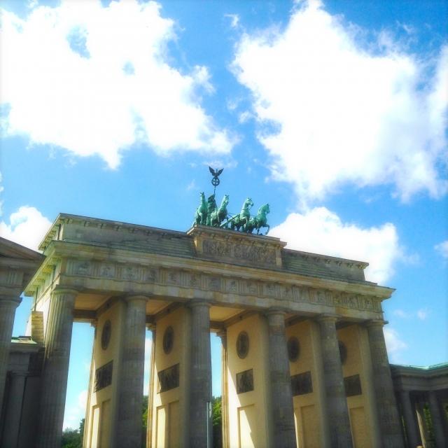ドイツのベルリンの風景