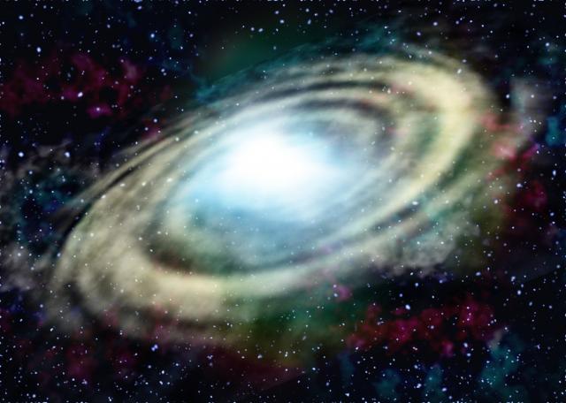 エイリアンと人類が戦う銀河系