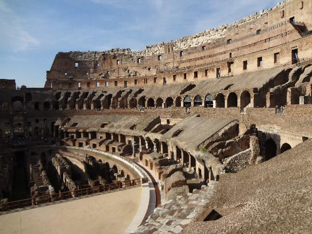 ローマの建築物の美しさ