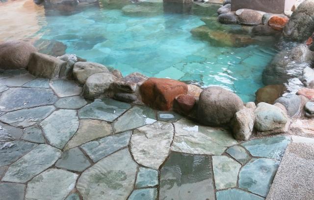 ルシウスが驚いた温泉
