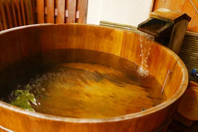 桶風呂という発想