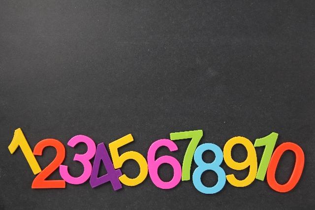 パスワードの数字