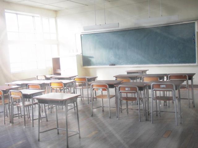 中学校で起きる恐ろしい事
