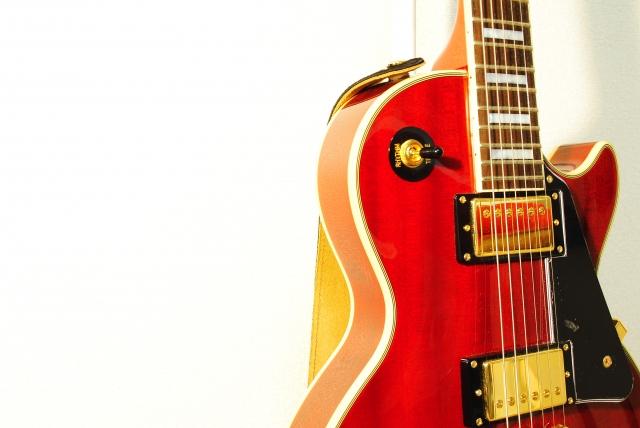 バンドが愛用していたギター