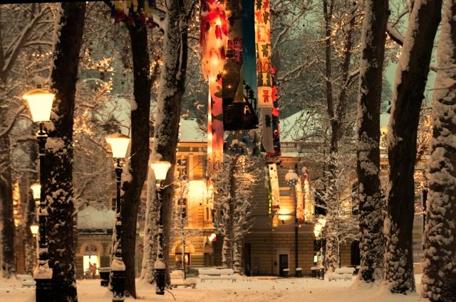 クリスマスソングが似合う街