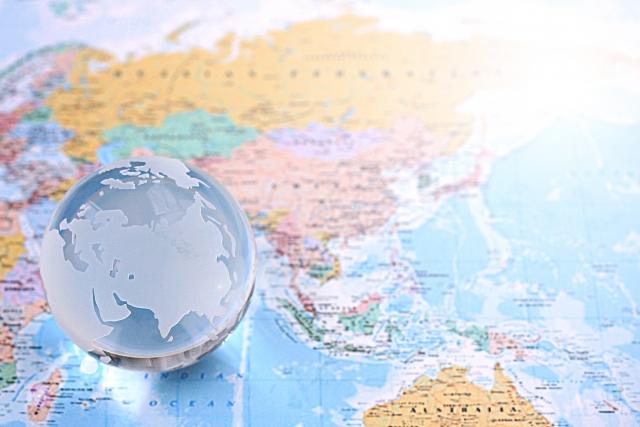 地球の地図