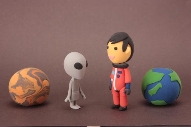宇宙人と人間の絆