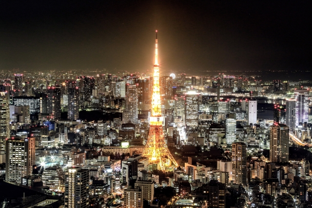NANAが上京した東京
