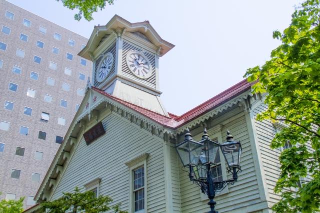 北海道札幌市の時計台