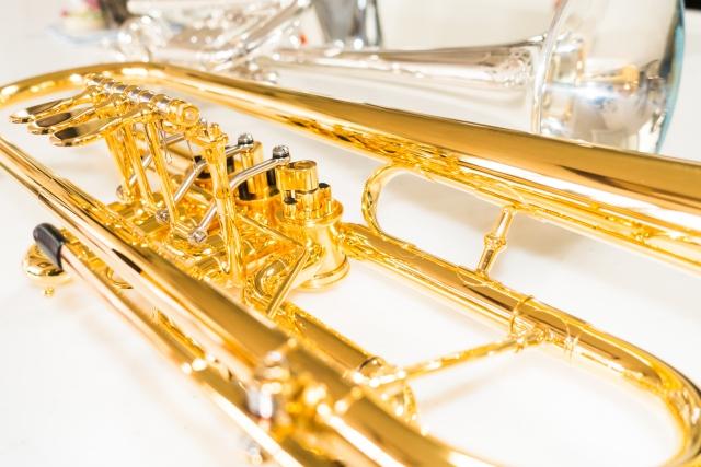 オーケストラで使用する楽器の輝き