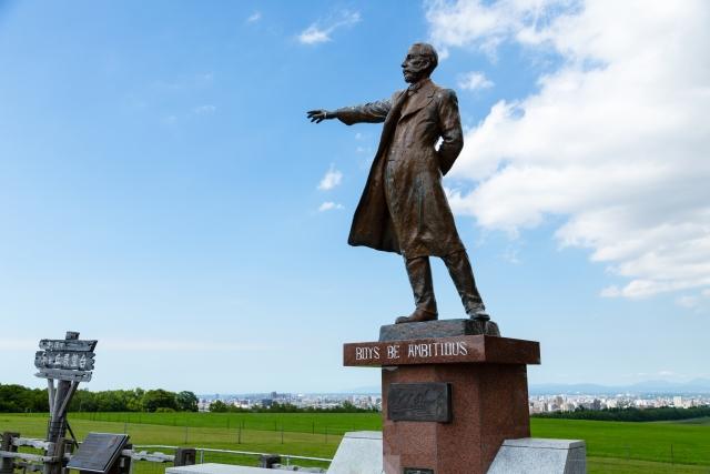 北海道のクラーク像