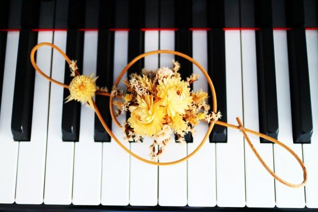 のだめの見所を表すピアノ画像