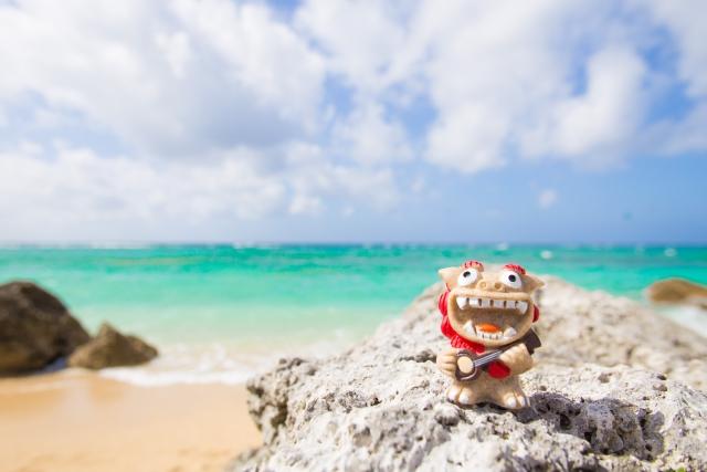 沖縄の有名なシーサー