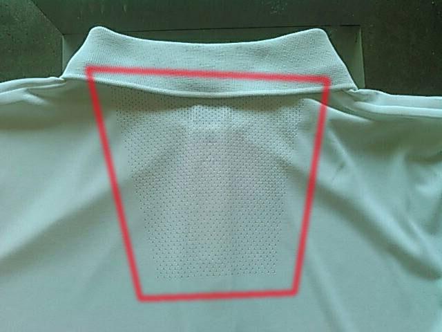 ドライEXポロシャツ 半袖の後ろ側