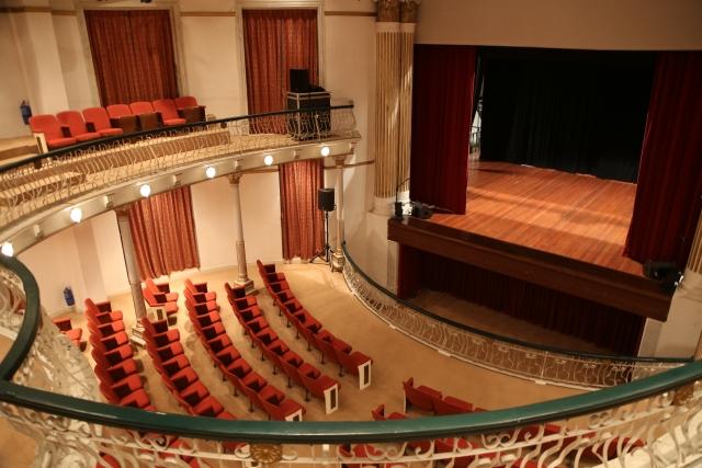 劇団がしようしている劇場