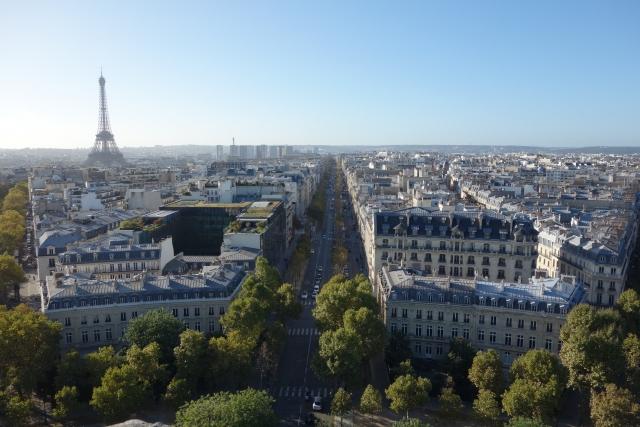 パリの景観の画像