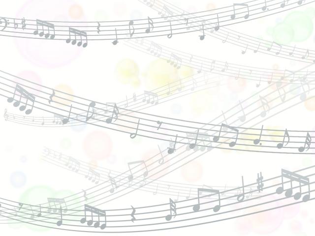 音楽の音符を表す画像