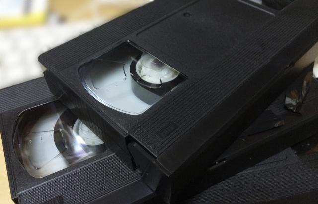 ダビングしたビデオテープの画像