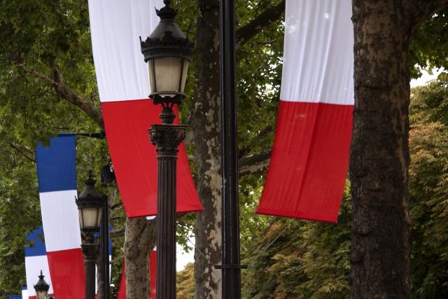 フランスを象徴する国旗