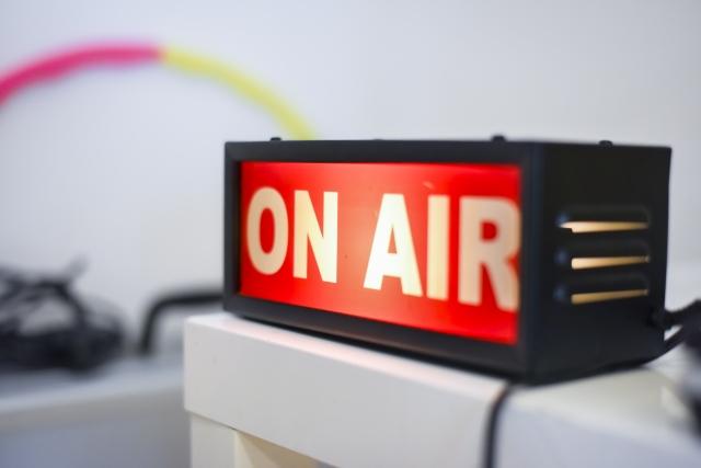 ラジオ局の画像