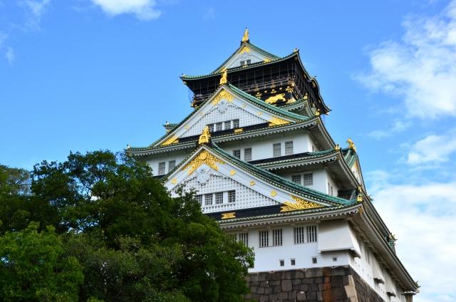 大阪城の迫力