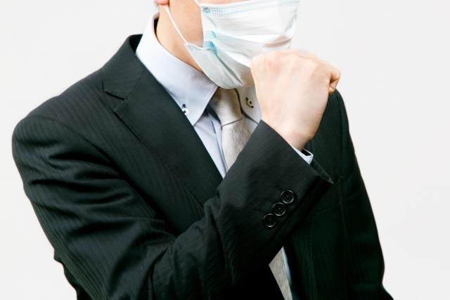咳き込む上司