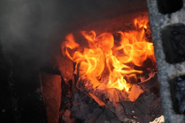 焼却炉で起きた事故