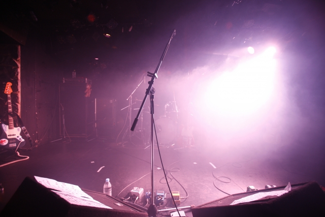 ライブ会場のライトスポット