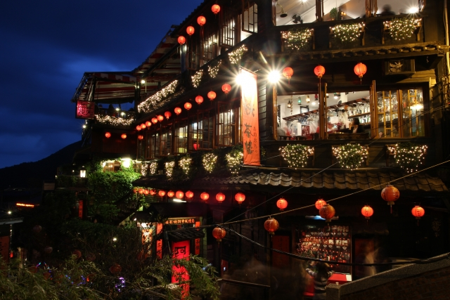 台湾の夜景の画像