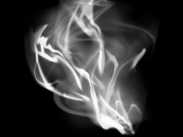 煙幕から登場