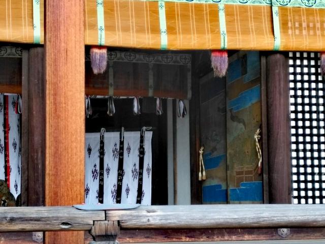 京都御所の入り口