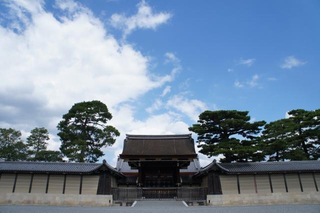 京都御所の荘厳さ