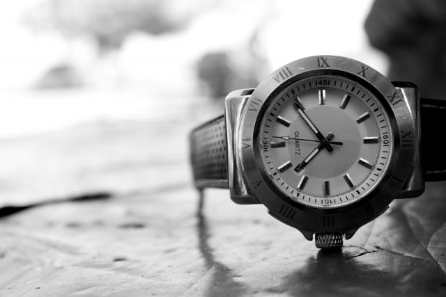 形見の腕時計