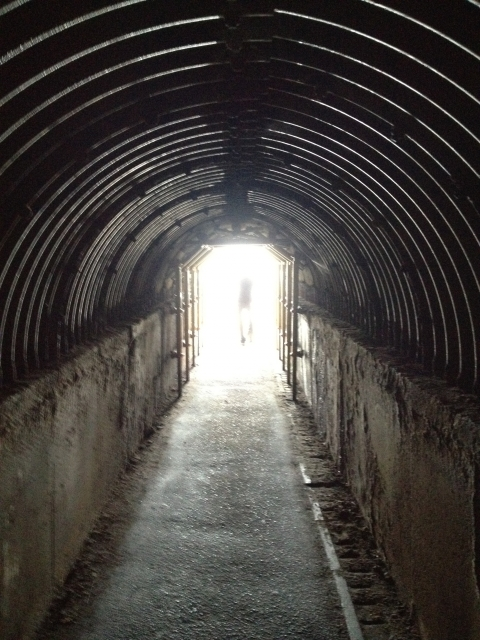 秘密の隠し通路