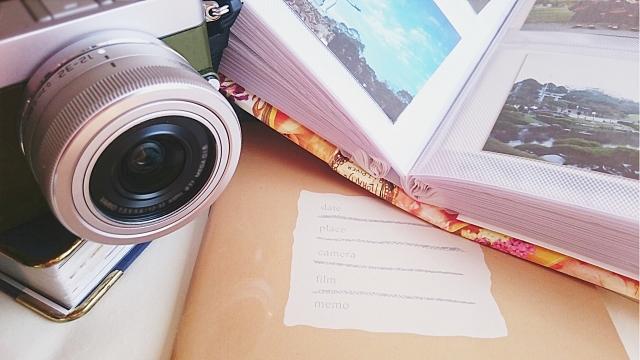 写真撮影の道具