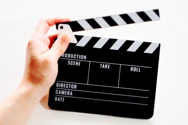 映画を製作するシーン