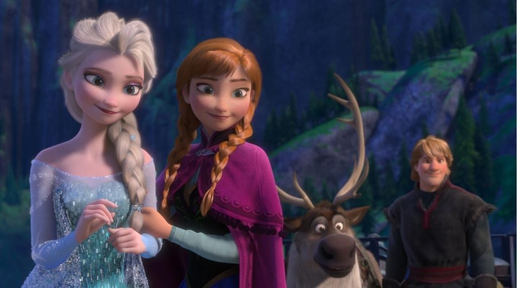 雪の女王とアナの再会