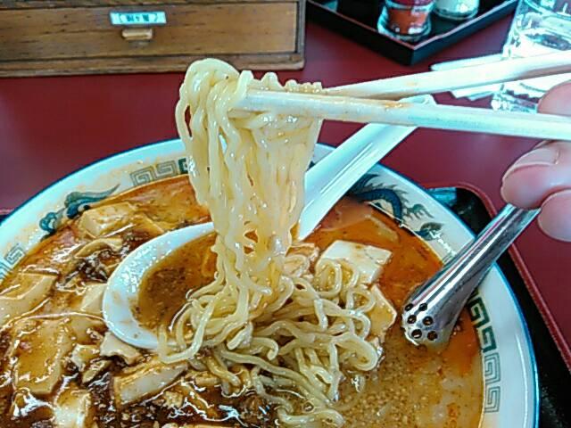 タンタンマーボーメンの麺の画像