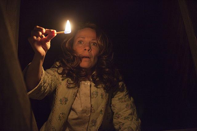 死霊館に火を灯す画像
