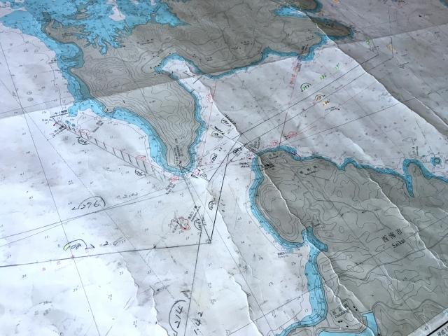 海図の画像